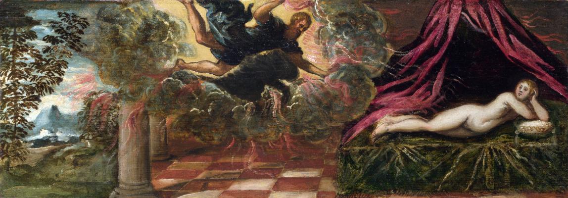 Jacopo (Robusti) Tintoretto. Jupiter and Semela