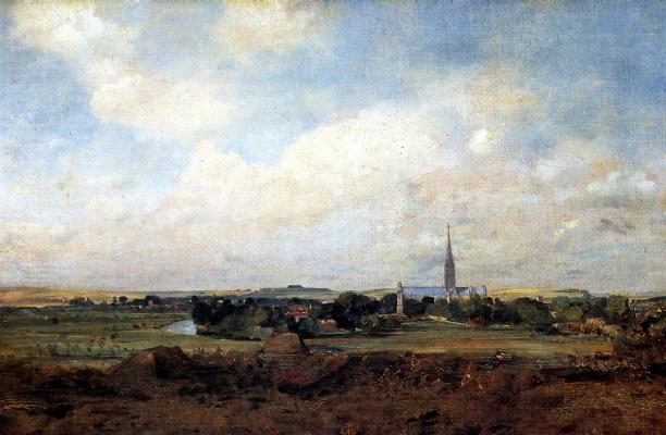 John Constable. View Of Salisbury
