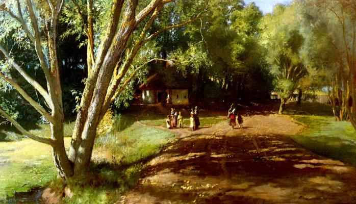 Konstantin Makovsky. Summer afternoon