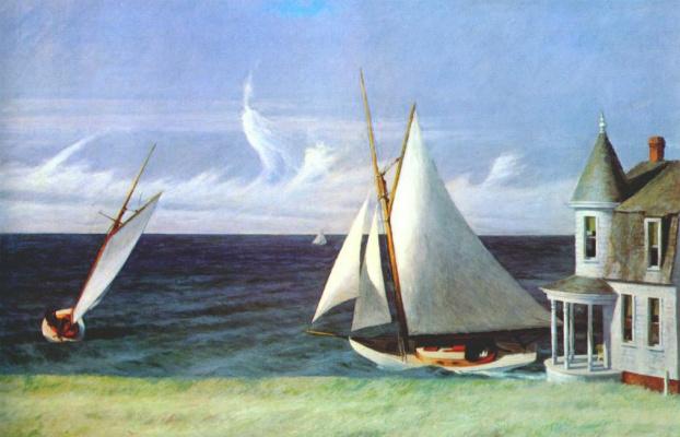 Edward Hopper. Shore