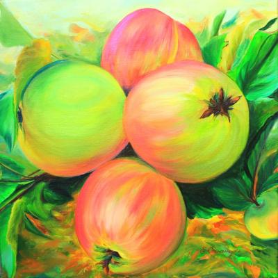 Елена Степаненко. Apples