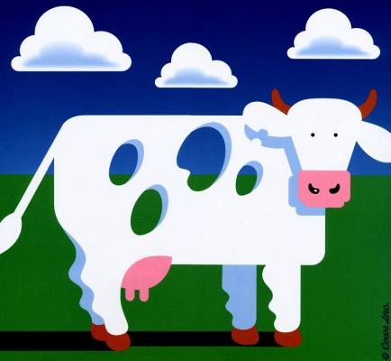 Инк Ковс. Швейцарская корова