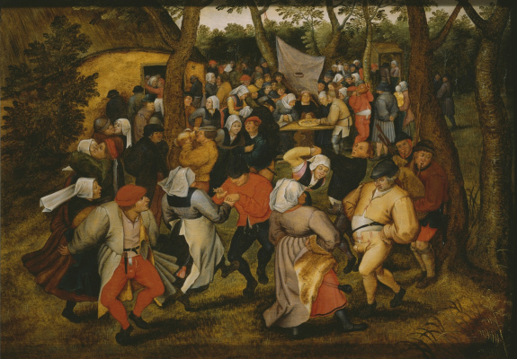 Peter Brueghel The Younger. Wedding dance
