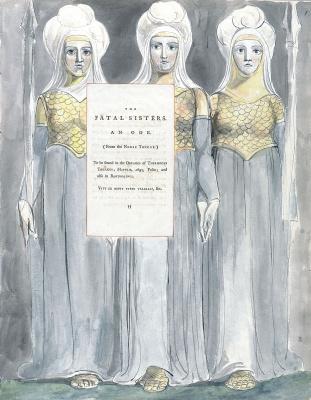 Уильям Блейк. Иллюстрации к стихам. Смертельные сестры. Титульный лист