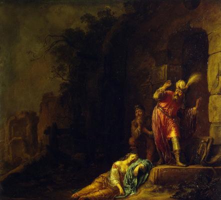 Виллем Бартсиус. Смерть жены Левита