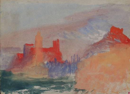 Joseph Mallord William Turner. Scarlet tower