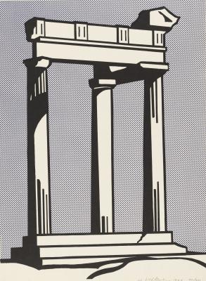 Рой Лихтенштейн. Храм