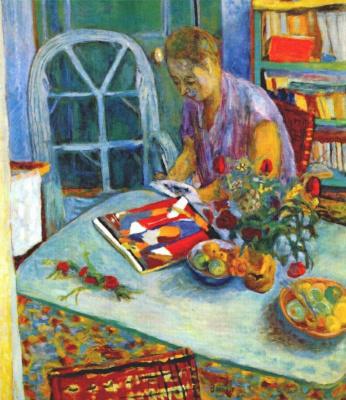 Pierre Bonnard. Woman