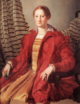 Agnolo Bronzino. Portrait of a noble lady