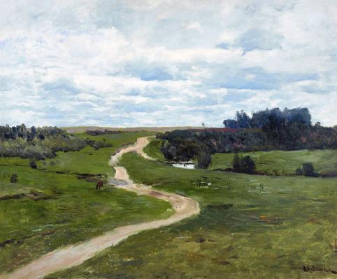 Isaac Levitan. Road