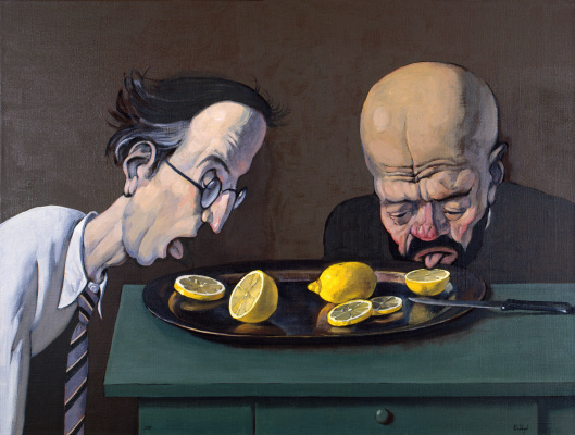 "Victor Dmitrievich Pivovarov. Eaters lemons. Cycle ""Eaters lemons"""