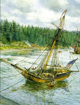 Марк Майерс. Парусное судно 14