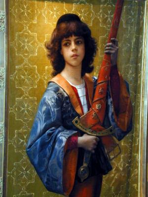 Alexandre Cabanel. Boy