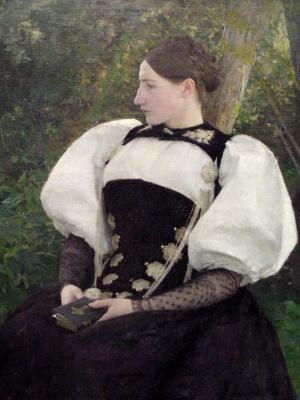 Паскаль Адольф Жан Даньян-Бувре. Женщина из Швейцарии
