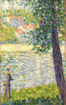 Georges Seurat. Morning walk