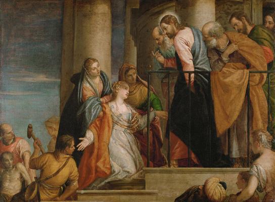 Paolo Veronese. Healing Bleeding