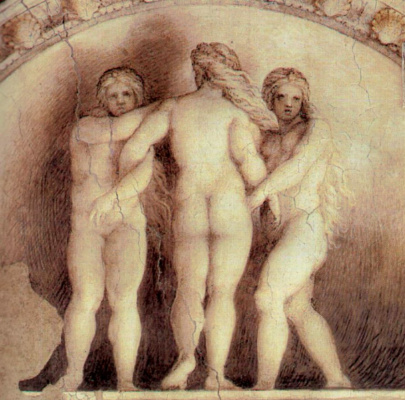 Antonio Correggio. The Three Graces