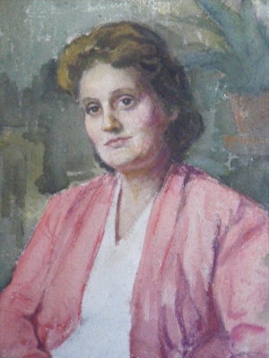 Yosif Josifovich Garani. Portrait of the actress