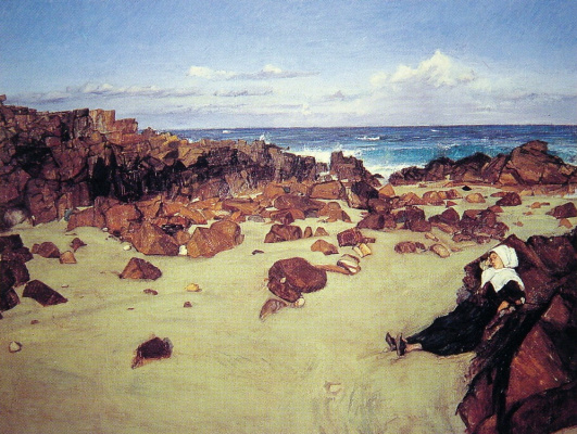 James Abbot McNeill Whistler. The Coast Of Brittany