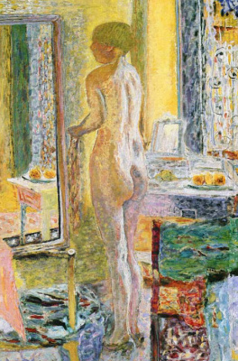 Pierre Bonnard. The woman at the table