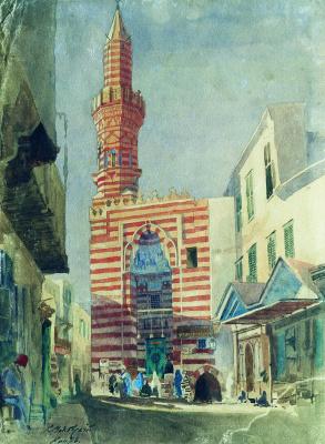 Konstantin Makovsky. Cairo