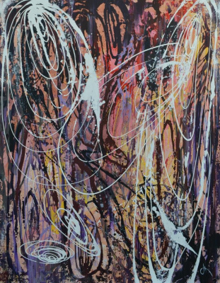 "Tanya Vasilenko. ""Dynamics"". Acrylic. Canvas. Dynamic. Acrylic on Canvas."
