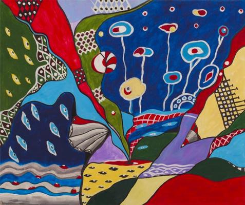 "Irina Shumskaya. Painting ""Bouquet of emotions"" Irina SHUMSKAYA"