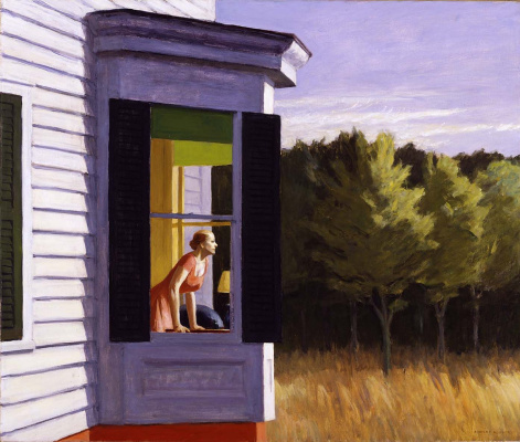 Edward Hopper. Morning on Cape cod