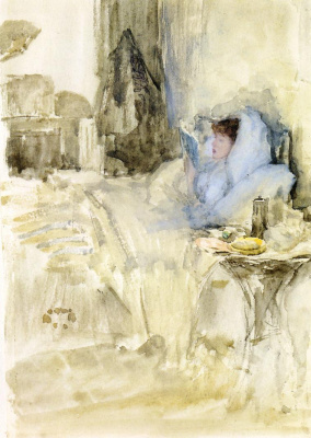 James Abbot McNeill Whistler. A convalescent