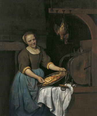 Gabrielle Metsu. Cook