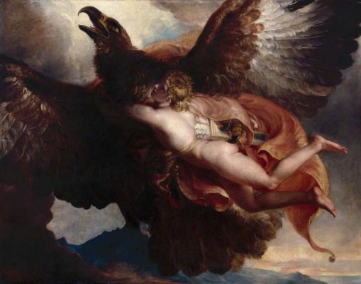 William Hilton. The Abduction Of Ganymede