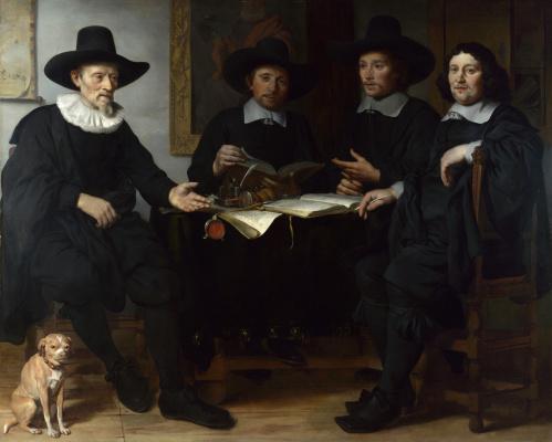 Гербранд ван ден Экхоут. Груповой портрет