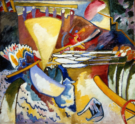 Wassily Kandinsky. Improvisation 11