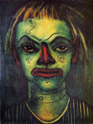 Франсис Пикабиа. Зеленое лицо