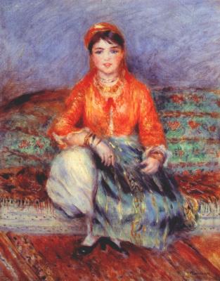 Pierre Auguste Renoir. Algerian girl