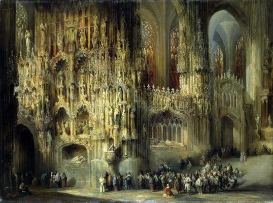 Хенаро Перес де Вильямиль. Интерьер собора Сан-Мигель в Хересе