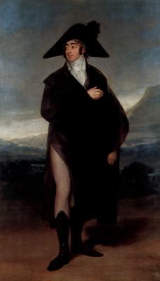 Francisco Goya. Portrait of count Fernand Nunez VII