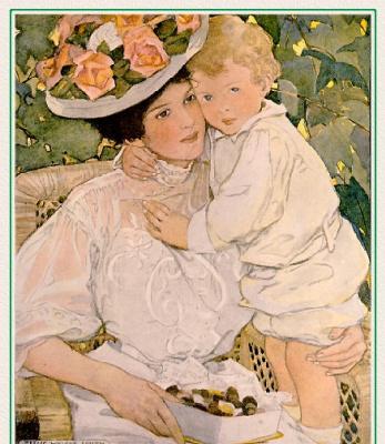 Джесси Уиллкокс Смит. Мать с сыном
