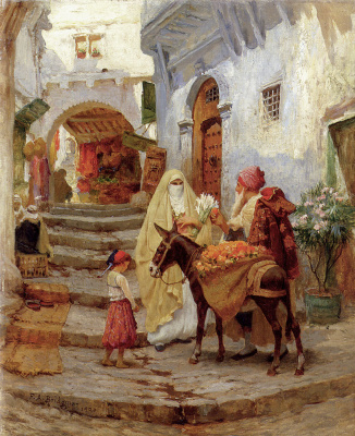 The seller of oranges