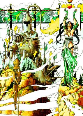 Клодин Сабатье. Зеленая фея