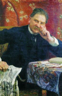 Ilya Efimovich Repin. Portrait Of Y. M. Vengerov