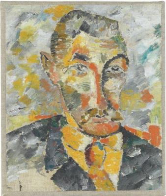 Portrait of a man (Alexey Morgunov?)