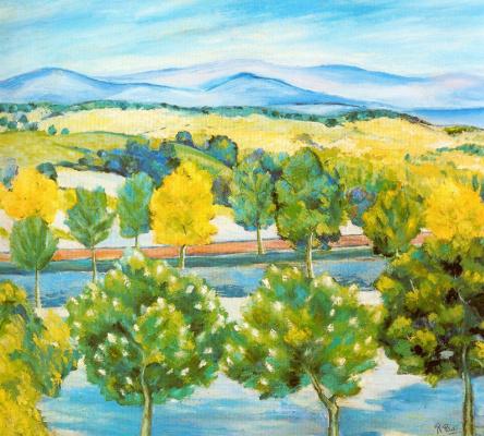 Рафаэль Ботэ. Осенний пейзаж