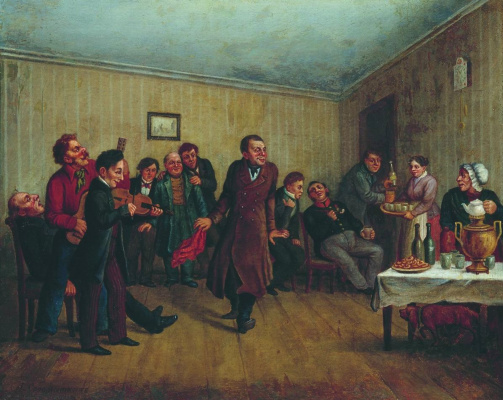 Leonid Ivanovich Solomatkin. Party clerk