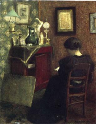 Анри Матисс. Читающая женщина