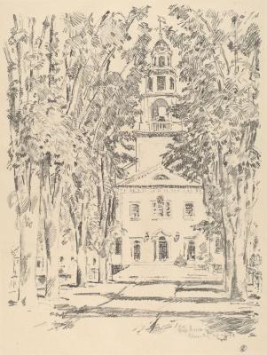 Колониальная церковь в Глостере
