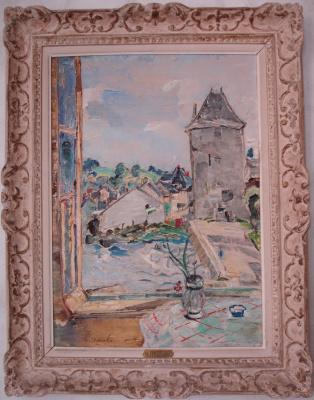 Alexey Vasilyevich Grischenko. Tower Of Para. The view from the window
