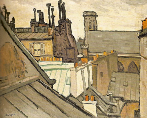 Albert Marquet. Roof
