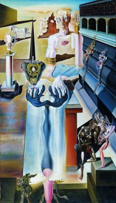 Salvador Dali. Invisible Man