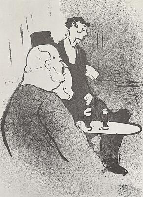 """Henri de Toulouse-Lautrec. Ducar in """"Ambassador"""""""